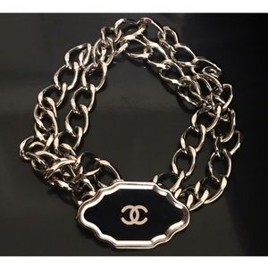 Authentic CHANEL CC Logo Chain Belt or Necklace